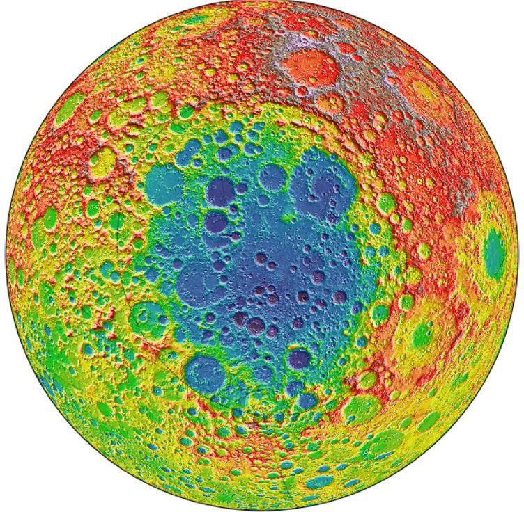 Une masse mystérieuse détectée sous la face cachée de la Lune