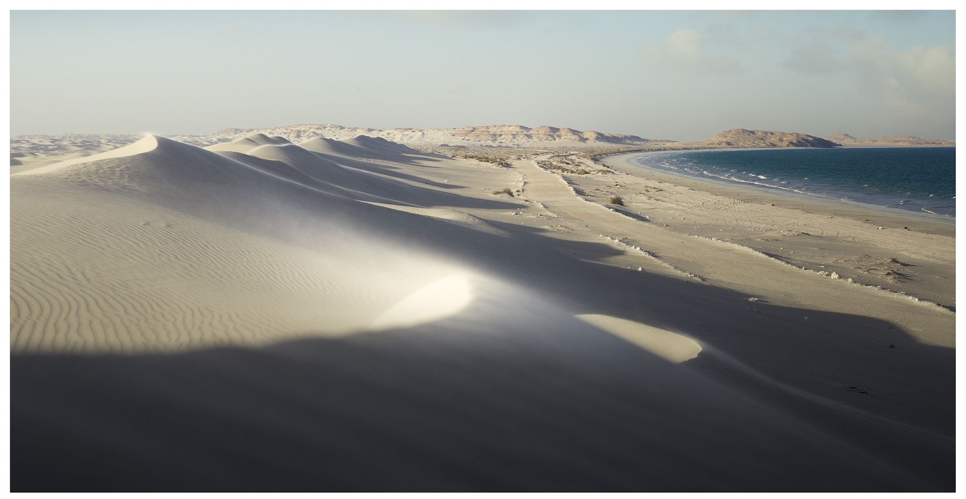 Désert de Wahiba Sands, Oman, 2019 - Fréquentées par les nomades et les pêcheurs de la ...