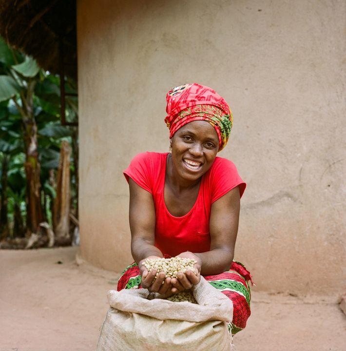 Jesca Kangai, 35 ans, vit dans le village de Pangeti dans le district de Mutasa, dans ...