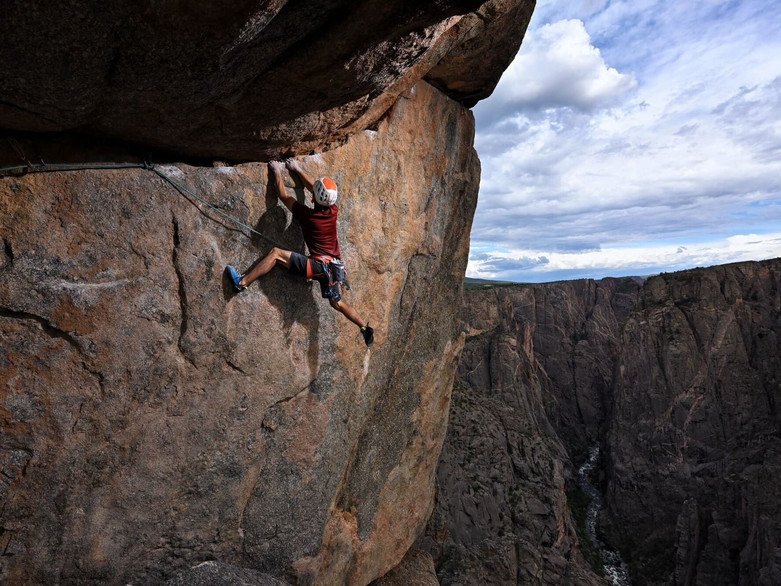 « Nous avons les plus hautes falaises du Colorado, et ce n'est pas rien car le Colorado ...
