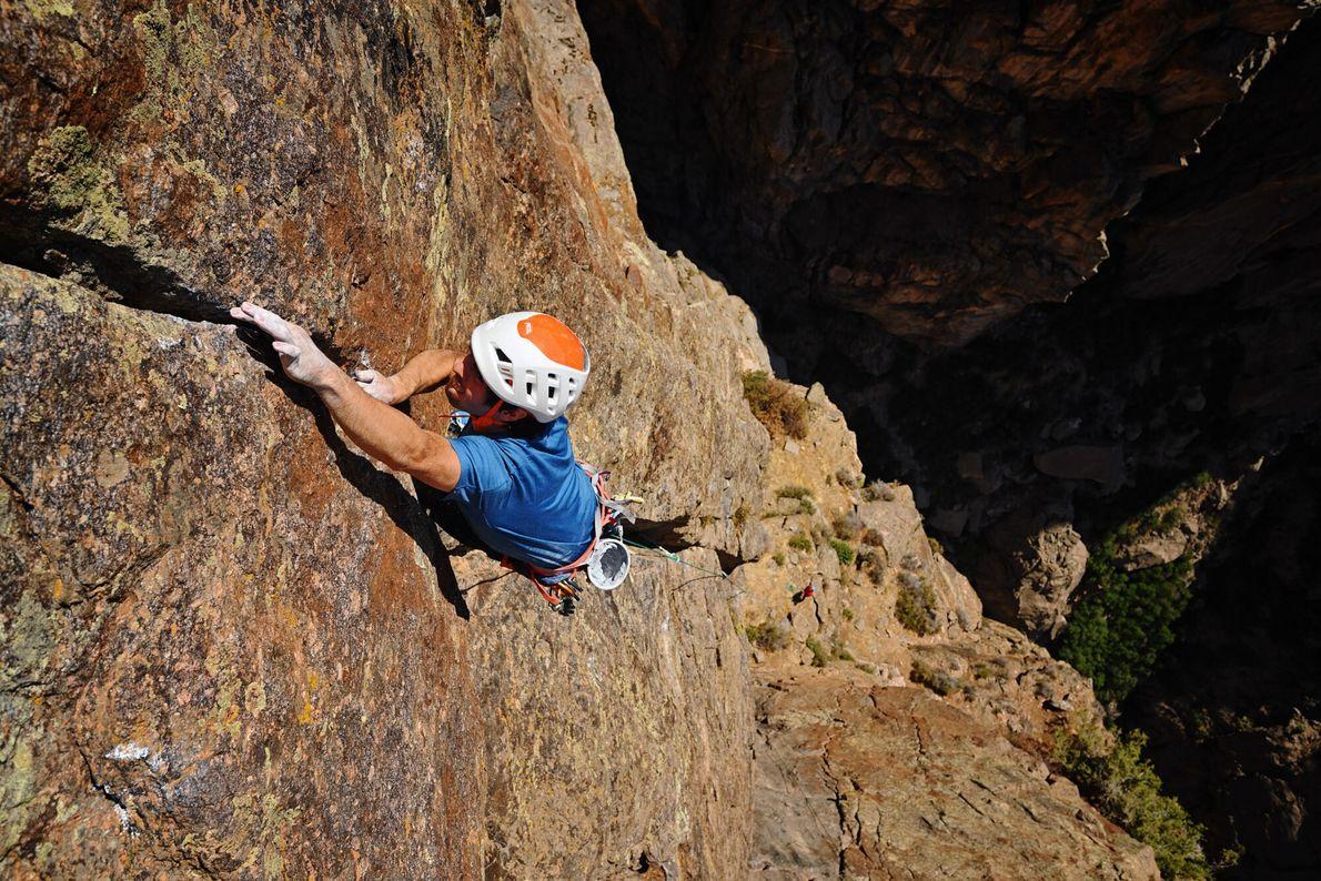 À Black Canyon, il faut une bonne dose de détermination et une solide expérience pour se ...