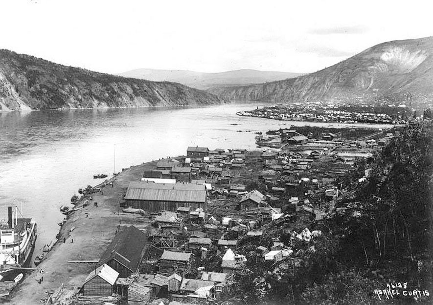 Dawson City est devenue la ville de la ruée vers l'or à la fin du 19e ...