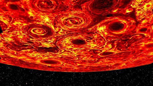La NASA dévoile de nouvelles images de Jupiter balayée par des cyclones