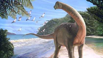 Une nouvelle espèce de sauropode a été découverte en Égypte
