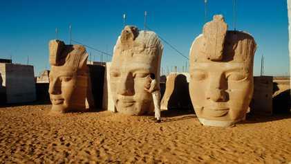 L'incroyable mission qui a permis de sauver les temples d'Abou Simbel
