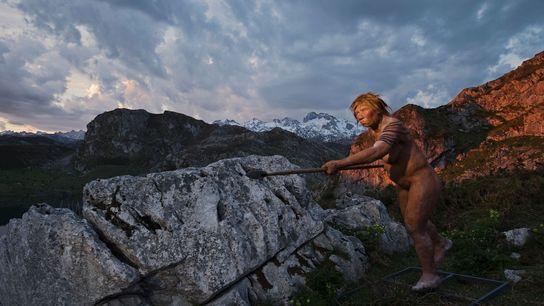 Lors de la cartographie par les scientifiques du génome de l'homme de Neandertal, des signes de ...