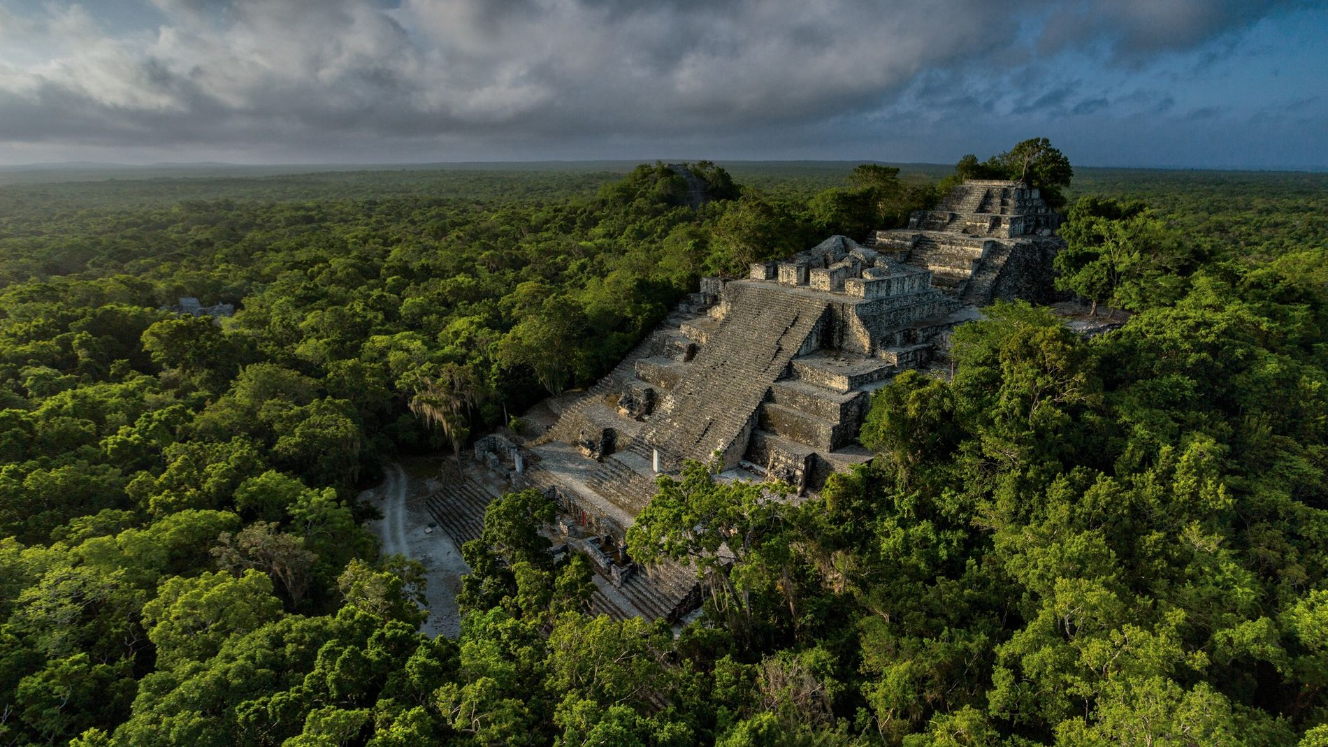 Découverte d'une ''mégalopole'' maya au Guatemala