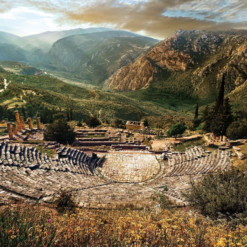 Comment les archéologues ont découvert le mythique site de Delphes