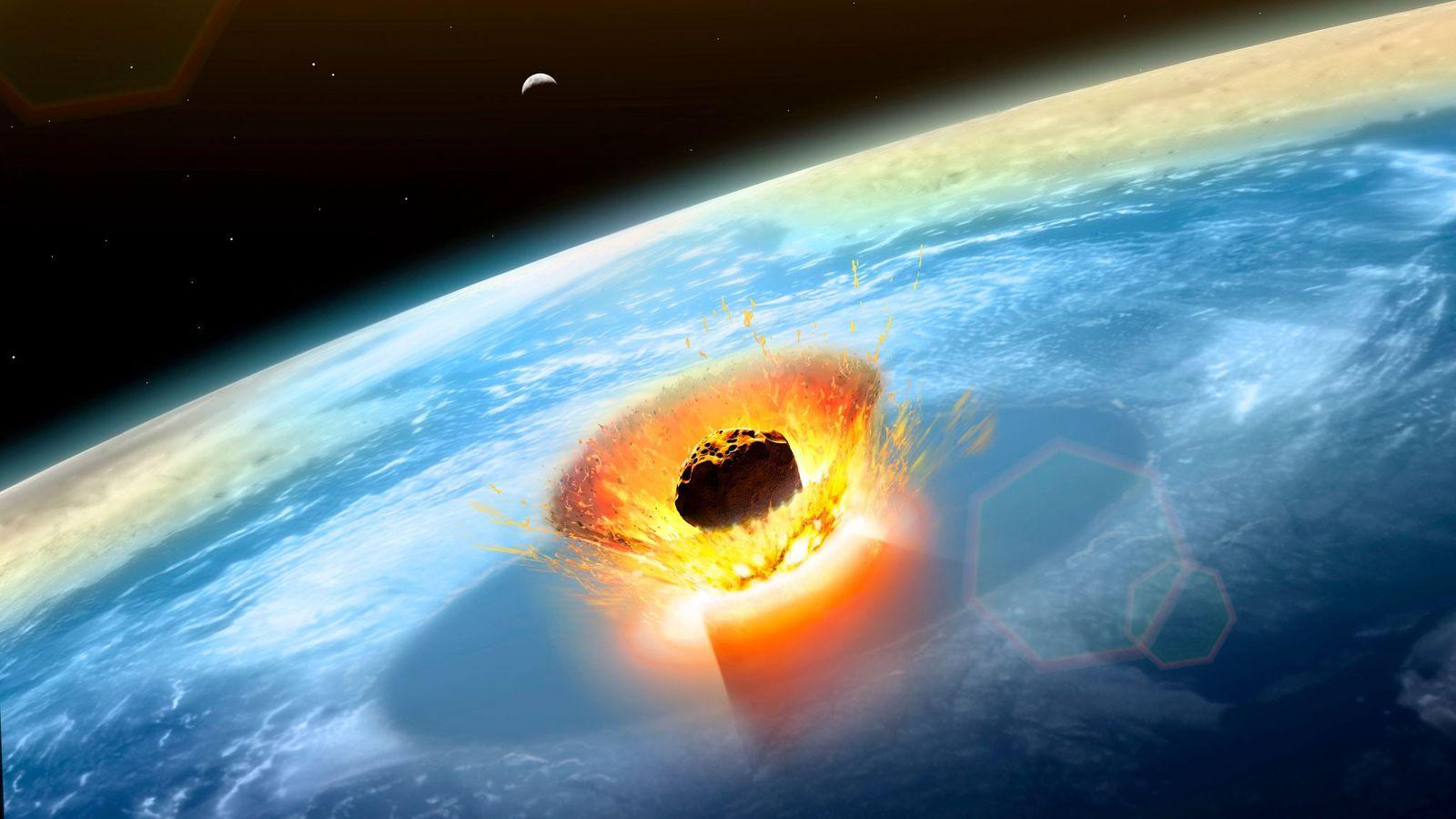 La disparition des dinosaures aurait été causée par la collision d'un météore géant avec la péninsule ...