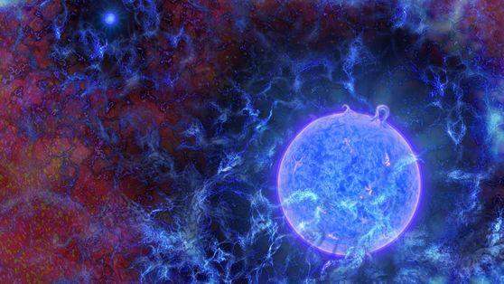 Les premières étoiles de l'univers auraient été détectées