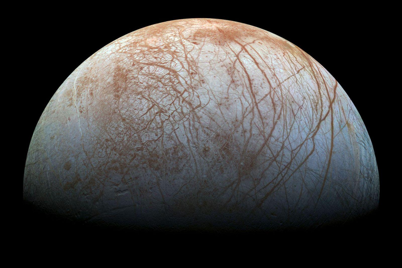 Des geysers d'eau auraient été détectés sur Europe, une lune de Jupiter
