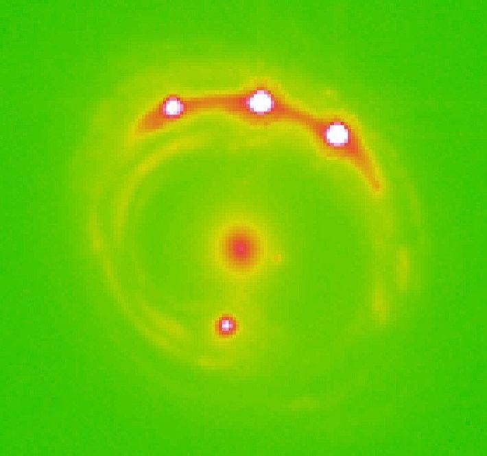 Une image prise grâce au MOA met en évidence de potentielles exoplanètes au-delà de notre galaxie.