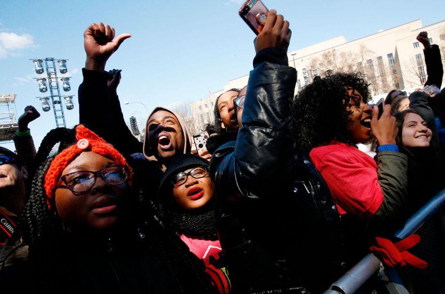 Ce samedi, lors du rassemblement March for Our Lives, des étudiants étaient présents pour protester contre …