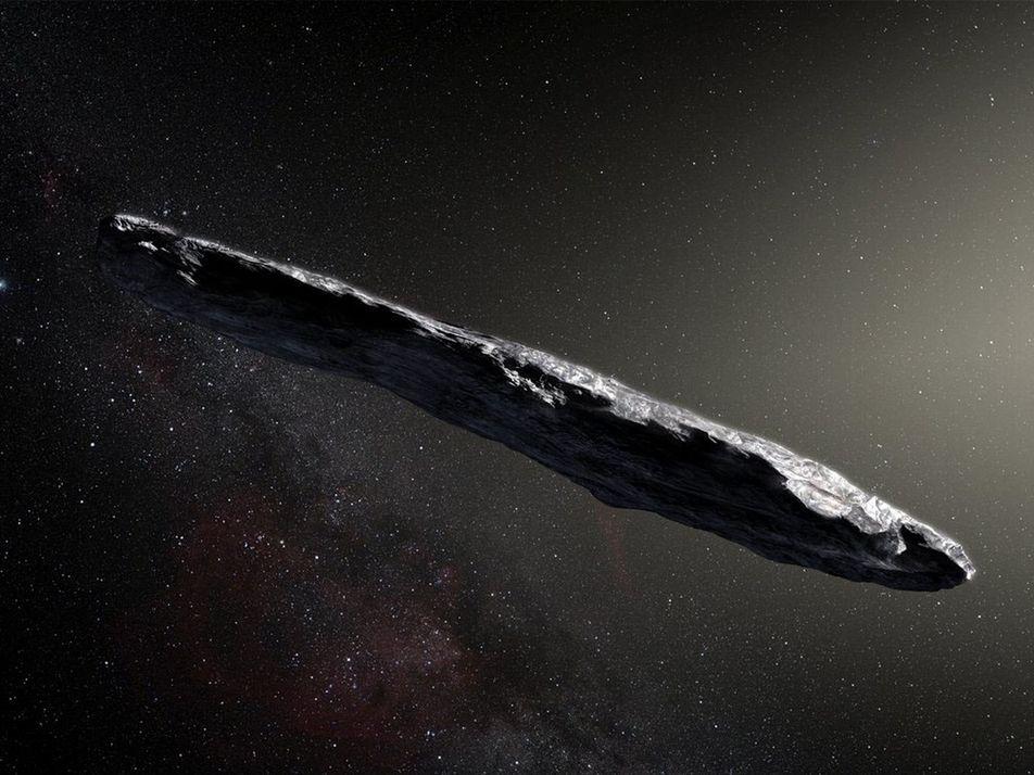 'Oumuamua ne serait pas un astéroïde mais une comète