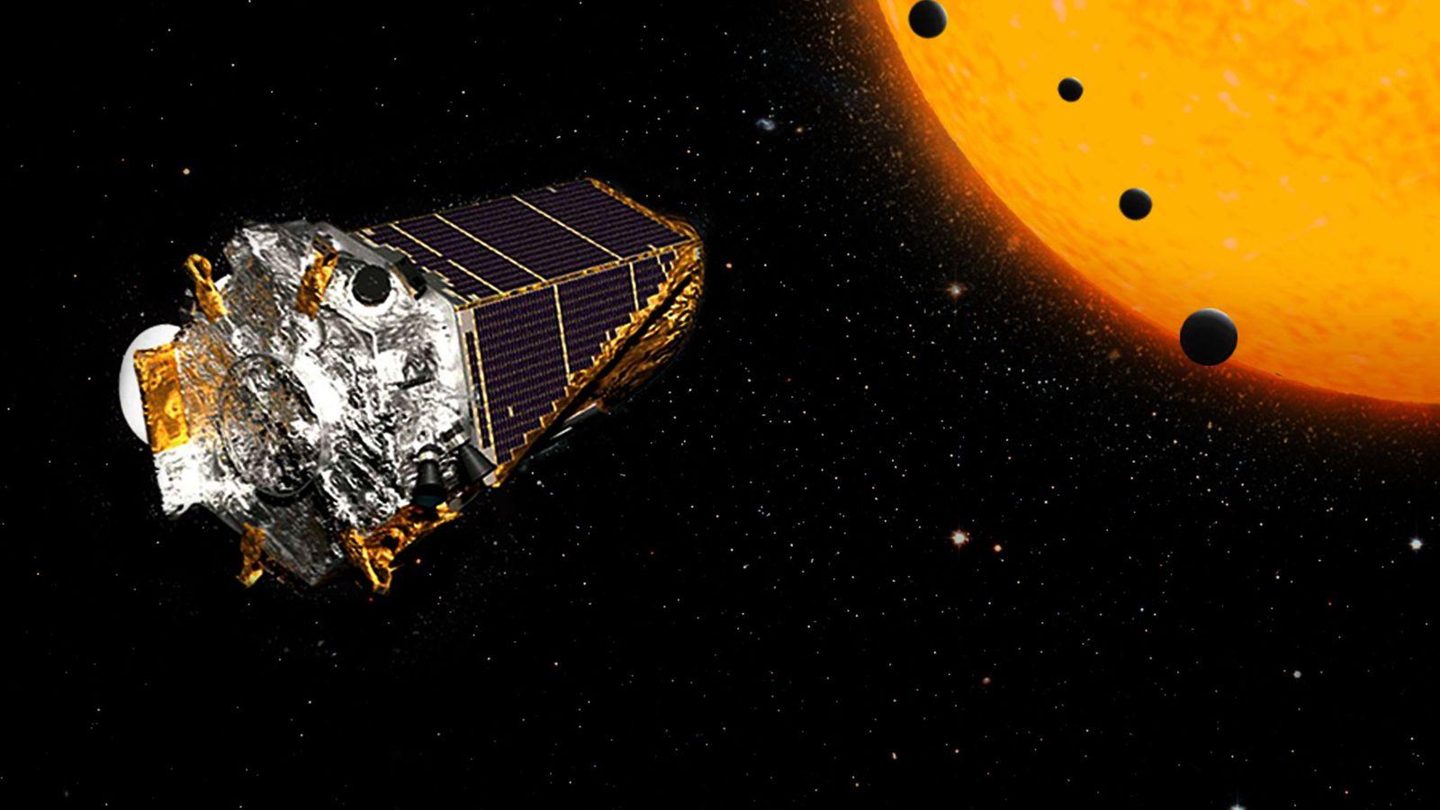 Une illustration de Kepler, le télescope spatial de la NASA.
