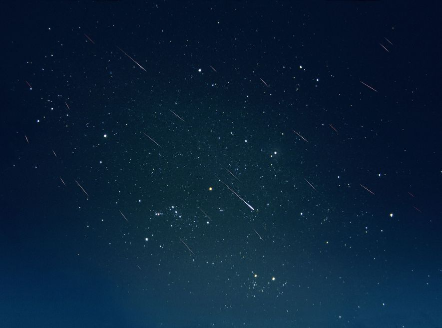 Les météores des Léonides semblaient embraser le ciel en novembre 2002.