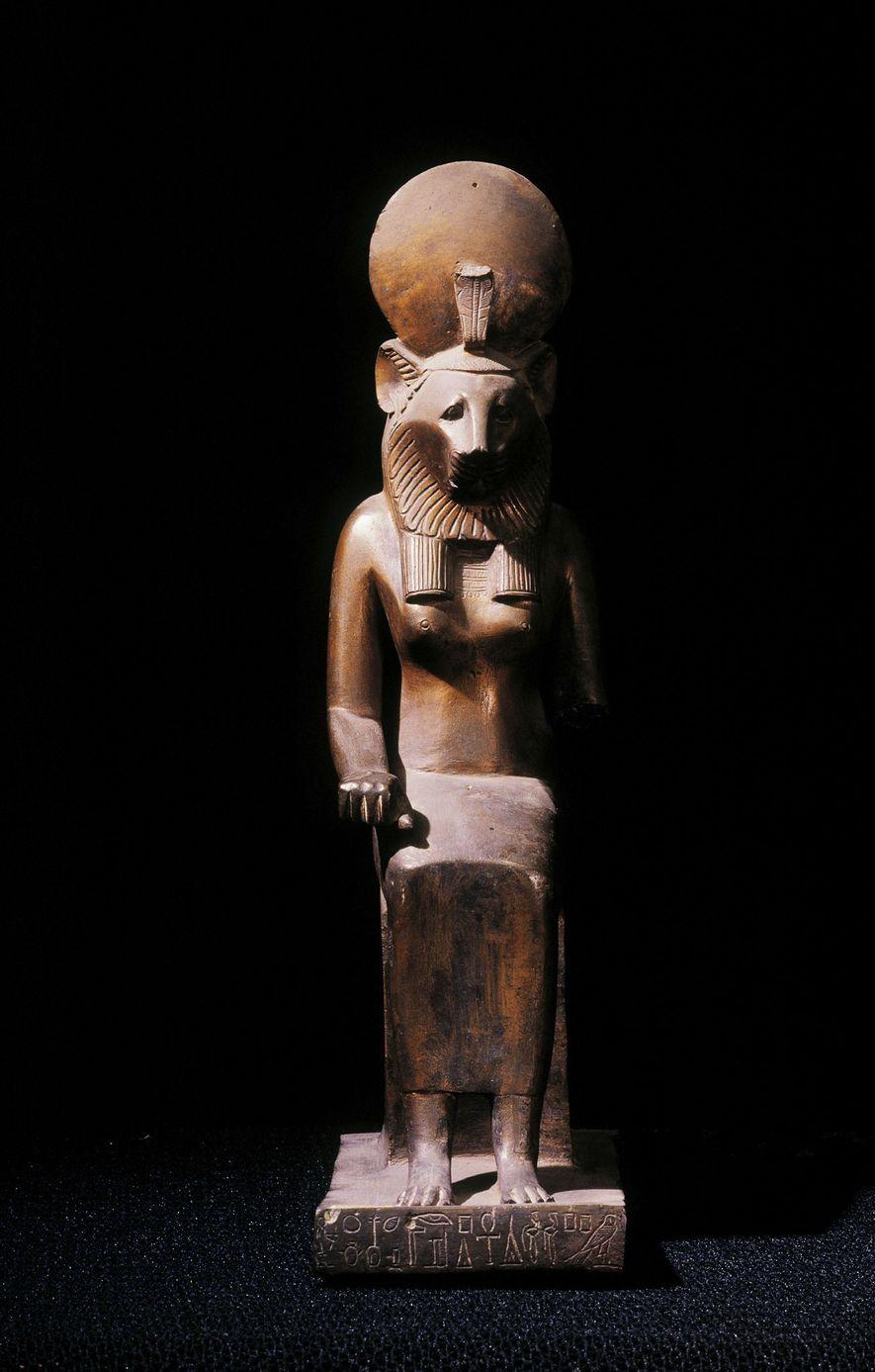 Les momies de lions peuvent être associées à l'adoration de Sekhmet, la déesse guerrière égyptienne à ...