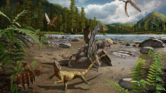 Ces empreintes fossilisées racontent l'origine de la bipédie des lézards