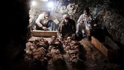Égypte : découverte d'une tombe de 3 500 ans