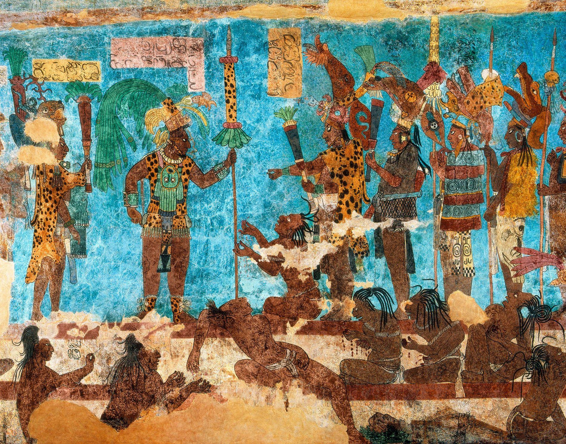 Loin d'être les paysans et prêtres pacifiques que l'on imaginait, les Mayas ont mené des guerres ...