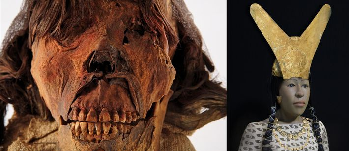 Cette aristocrate a vécu et a disparu il y a 1 600 ans et faisait partie ...