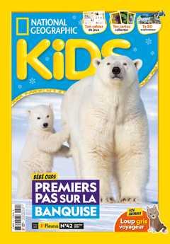 Numéro de janvier 2021 du magazine National Geographic Kids.