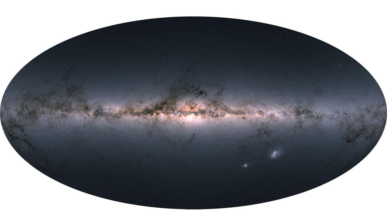 À ce jour, la mission Gaia de l'Agence spatiale européenne a permis de référencer le plus ...