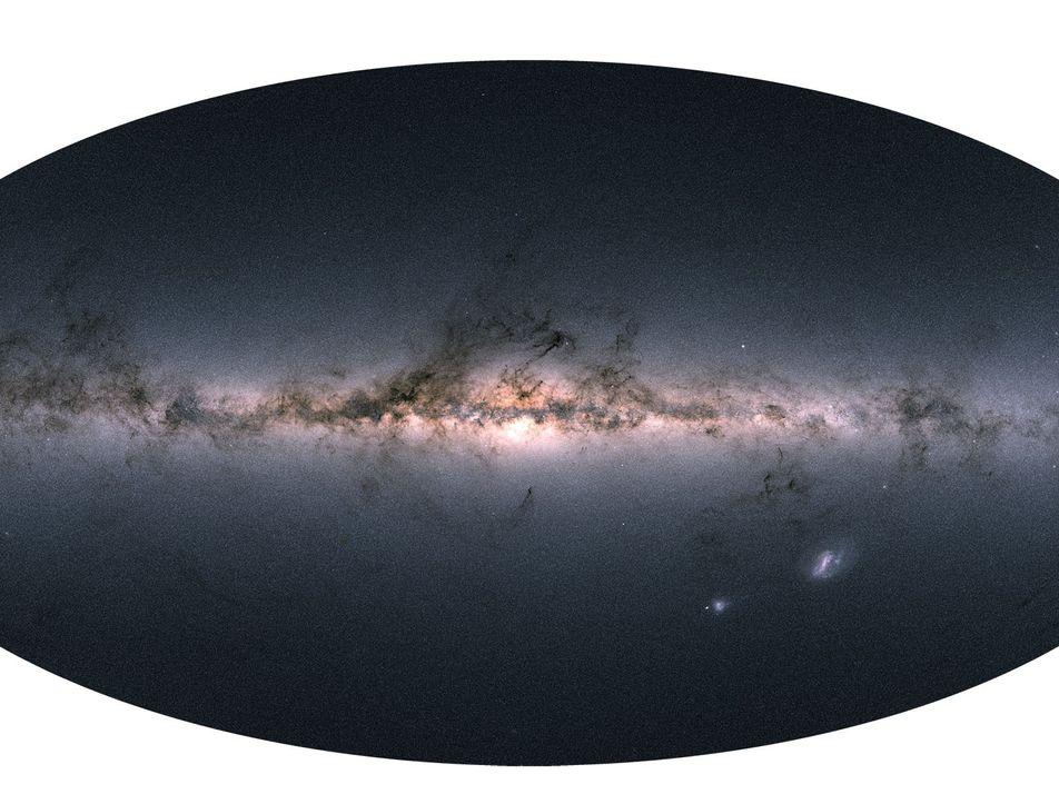 Plus de 1,7 milliard d'étoiles ont été cartographiées en 3D, une première