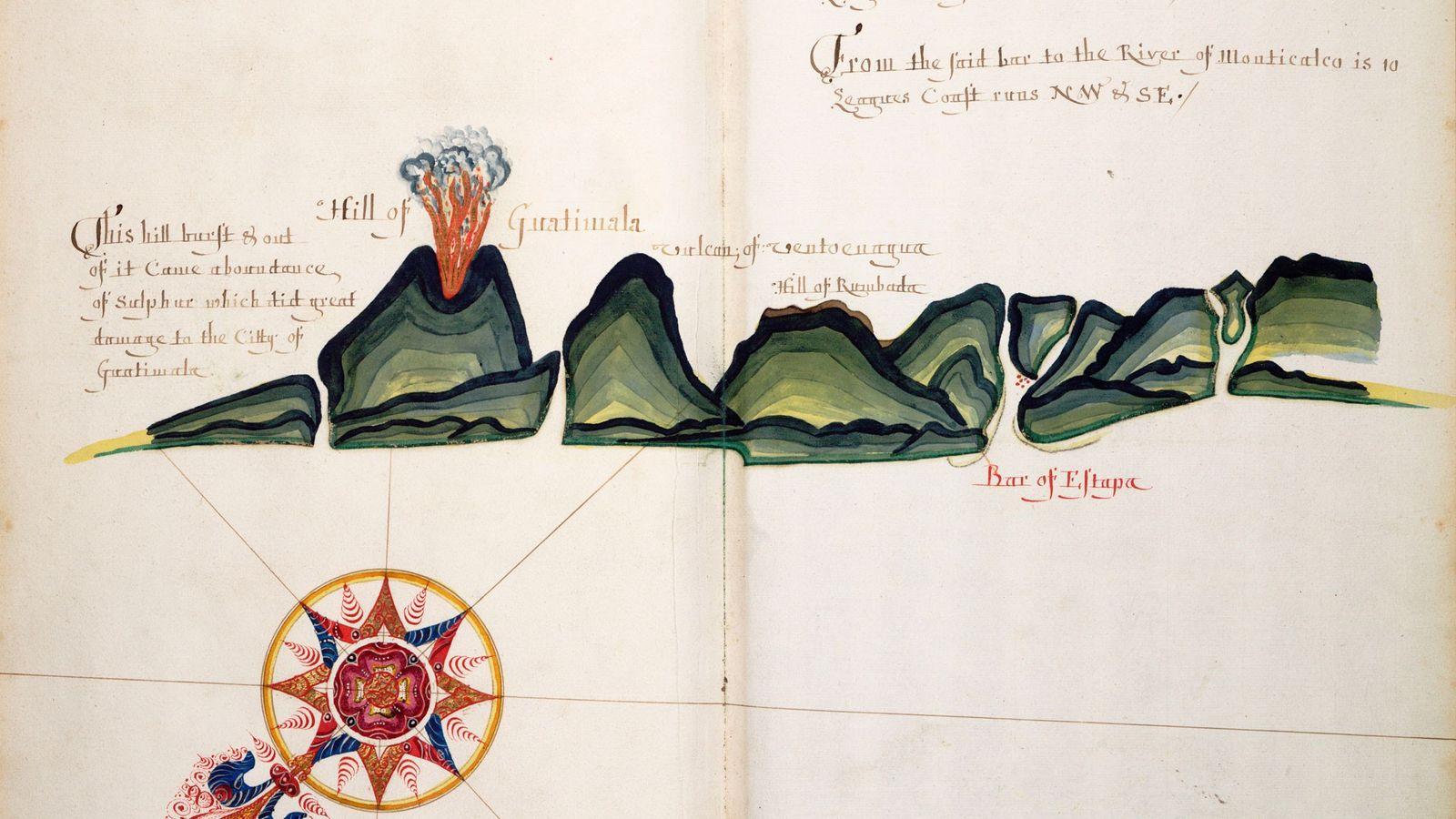 Les pirates anglais étaient fous de joie lorsqu'ils s'emparèrent d'un atlas de navigation espagnol. Les cartes ...