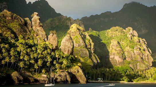 Une nouvelle analyse ADN montre que Fatu Hiva, l'île la plus méridionale des Marquises, est le ...