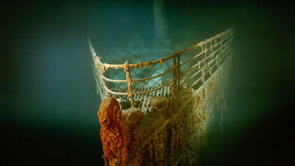 L'épave du Titanic a été découverte par un commando secret pendant la Guerre froide