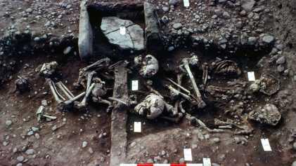 Les ossements de 300 guerriers vikings découverts en Angleterre