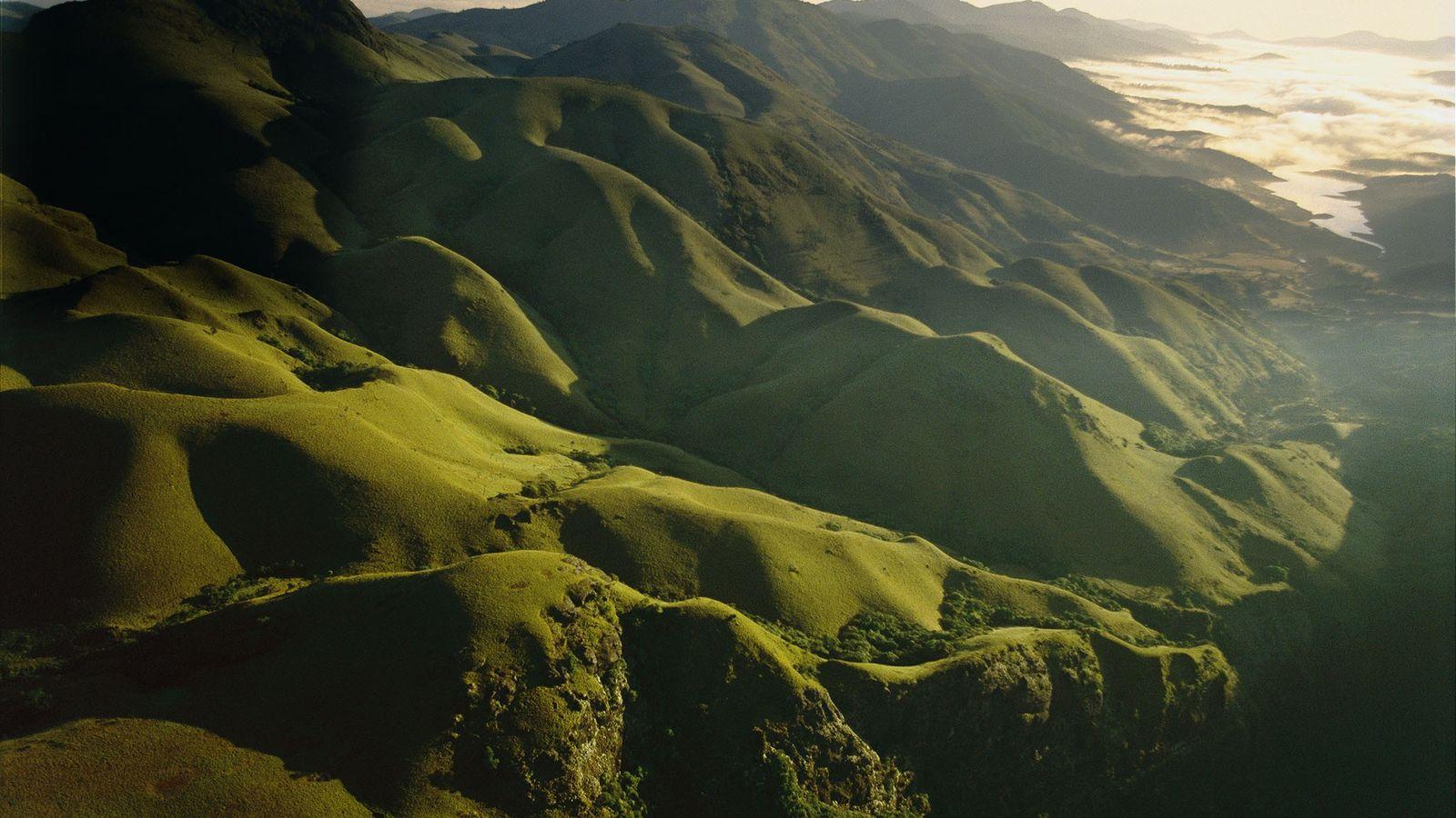 Au cours du Crétacé supérieur, des éruptions volcaniques ont formé ce que l'on connaît aujourd'hui comme ...