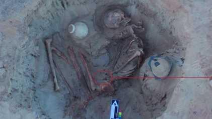 Égypte ancienne : découverte du squelette d'une femme enceinte de 3700 ans