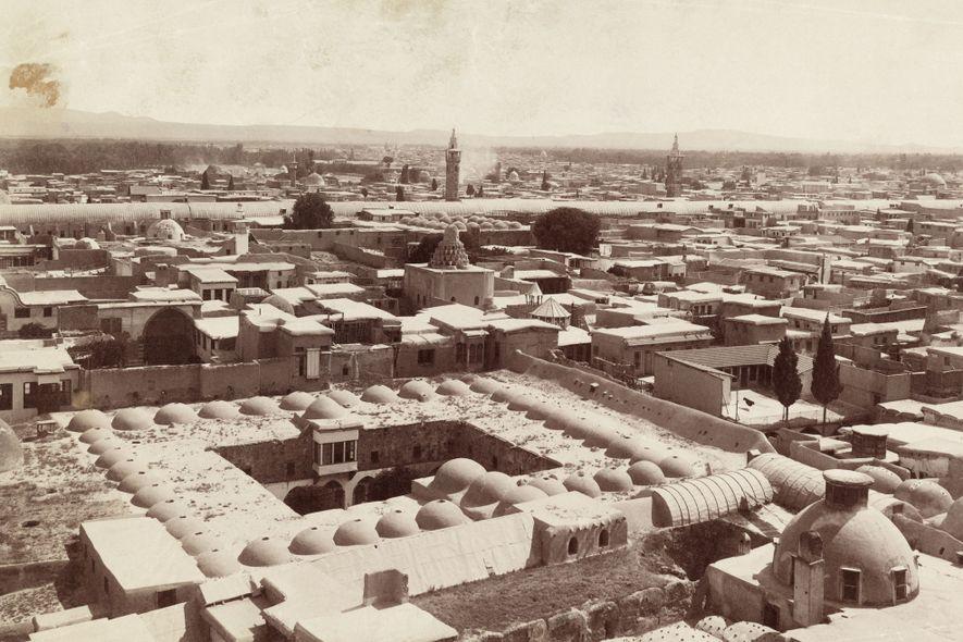 Damas, ici sur une photo datant de 1911, a été érigée au troisième millénaire avant notre ...