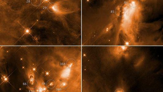 Naissance des étoiles : Hubble nous invite à repenser les modèles astronomiques