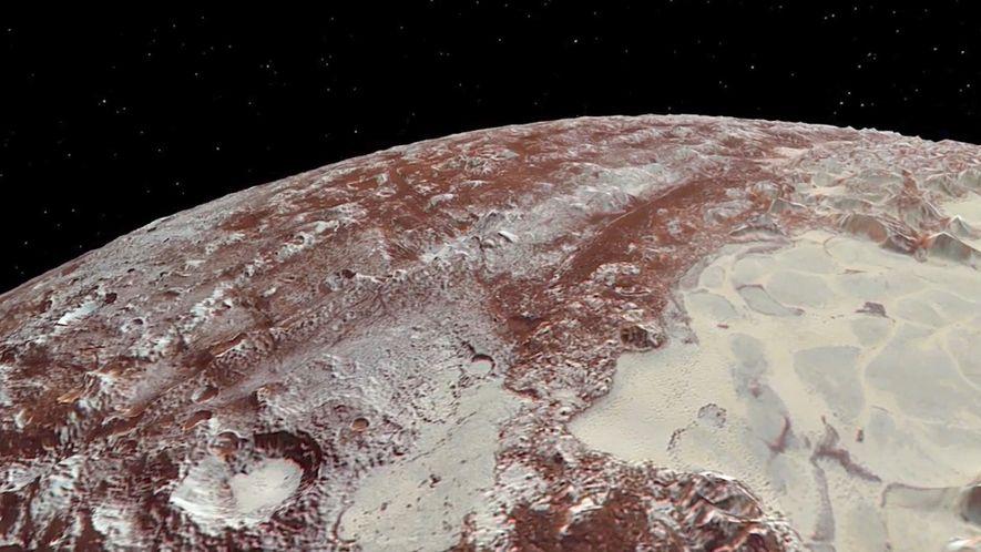Vidéo : De nouvelles animations de Pluton et sa lune, Charon.