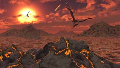 Et si l'astéroïde qui a tué les dinosaures avait impulsé la vie moderne ?