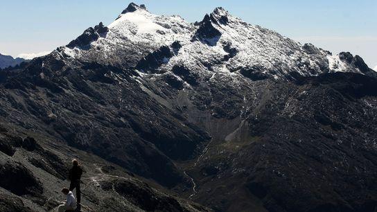 Le pic Humboldt, situé dans les Andes vénézuéliennes, abrite le dernier glacier du pays. Mais celui-ci ...