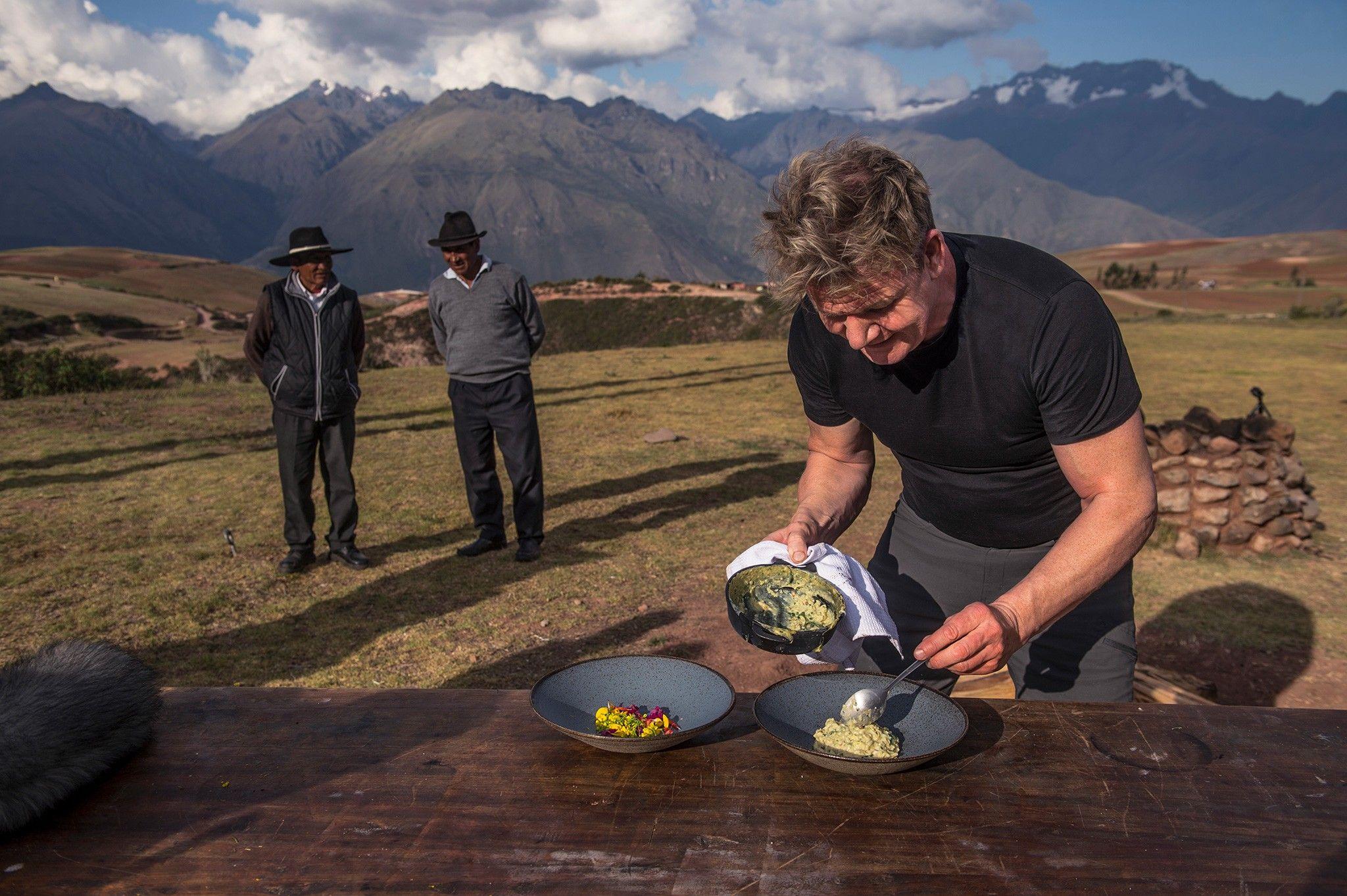 Suivez Gordon Ramsay dans son voyage gastronomique à travers le monde | National Geographic