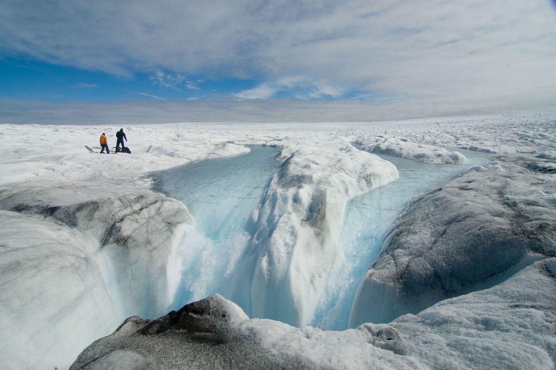 Au Groenland, une fonte des glaces sans précédent