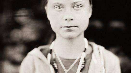 Portrait intitulé « Greta ».