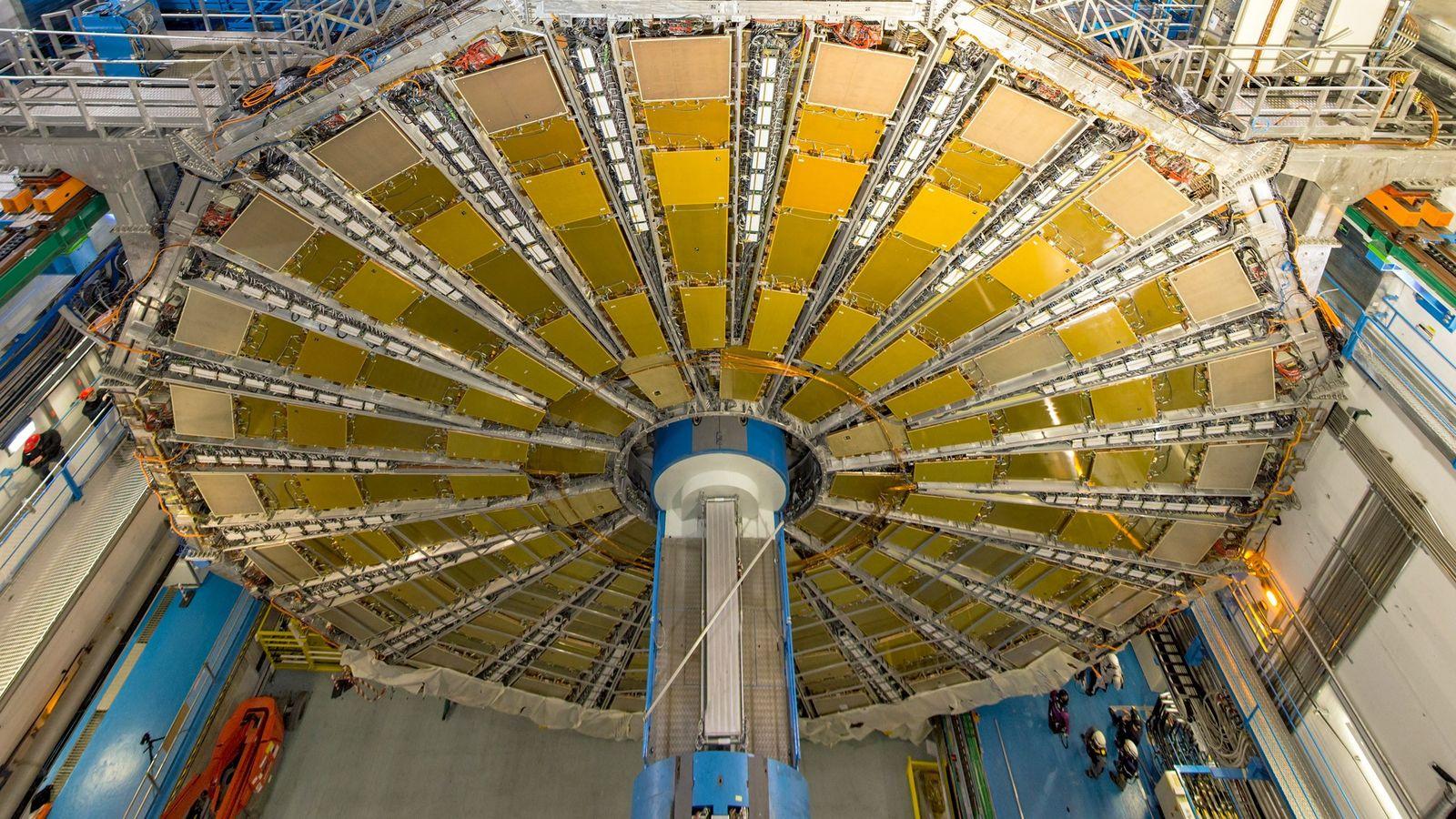 L'une des deux expériences ayant permis l'observation de la décomposition du boson de Higgs s'est tenue ...