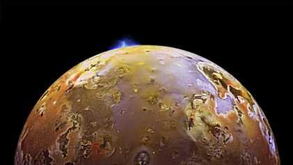 Io, la lune la plus volcanique du système solaire