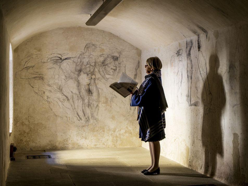 Une chambre secrète révèle les œuvres d'art oubliées de Michel-Ange