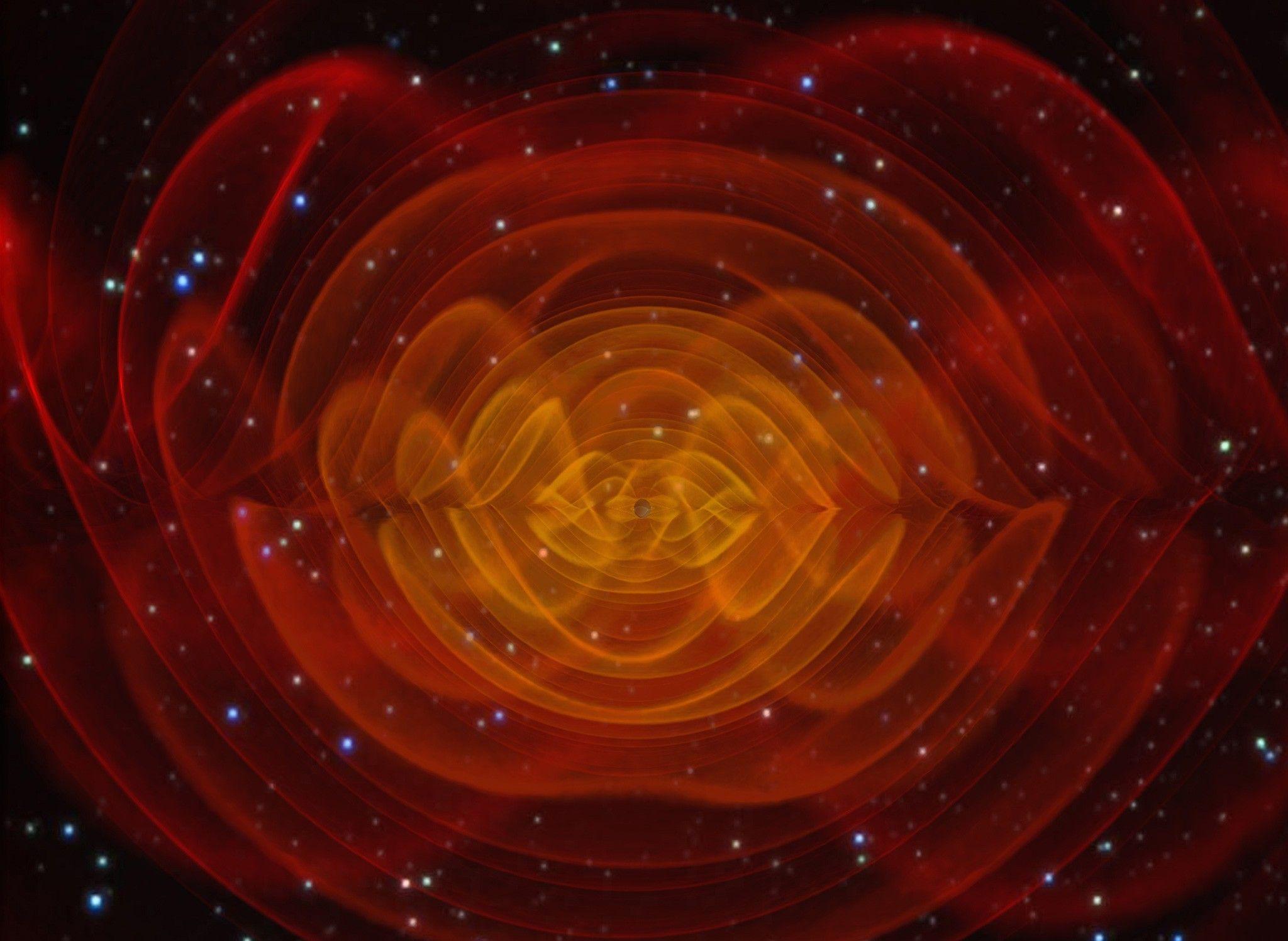 La détection d'ondes gravitationnelles récompensée par le prix Nobel de physique