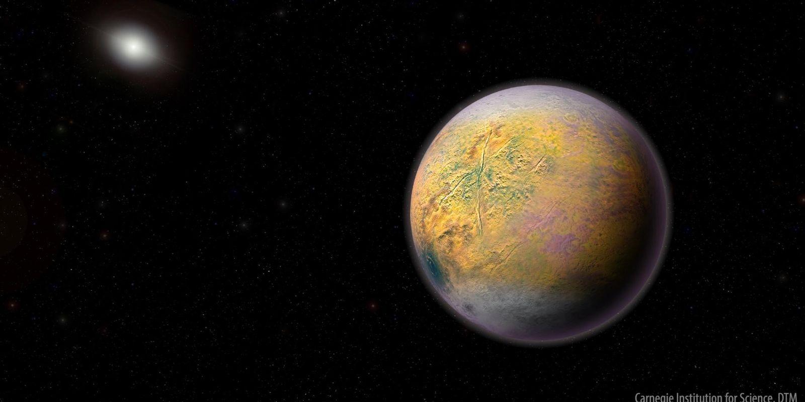 Le Gobelin, la nouvelle planète naine de notre système solaire