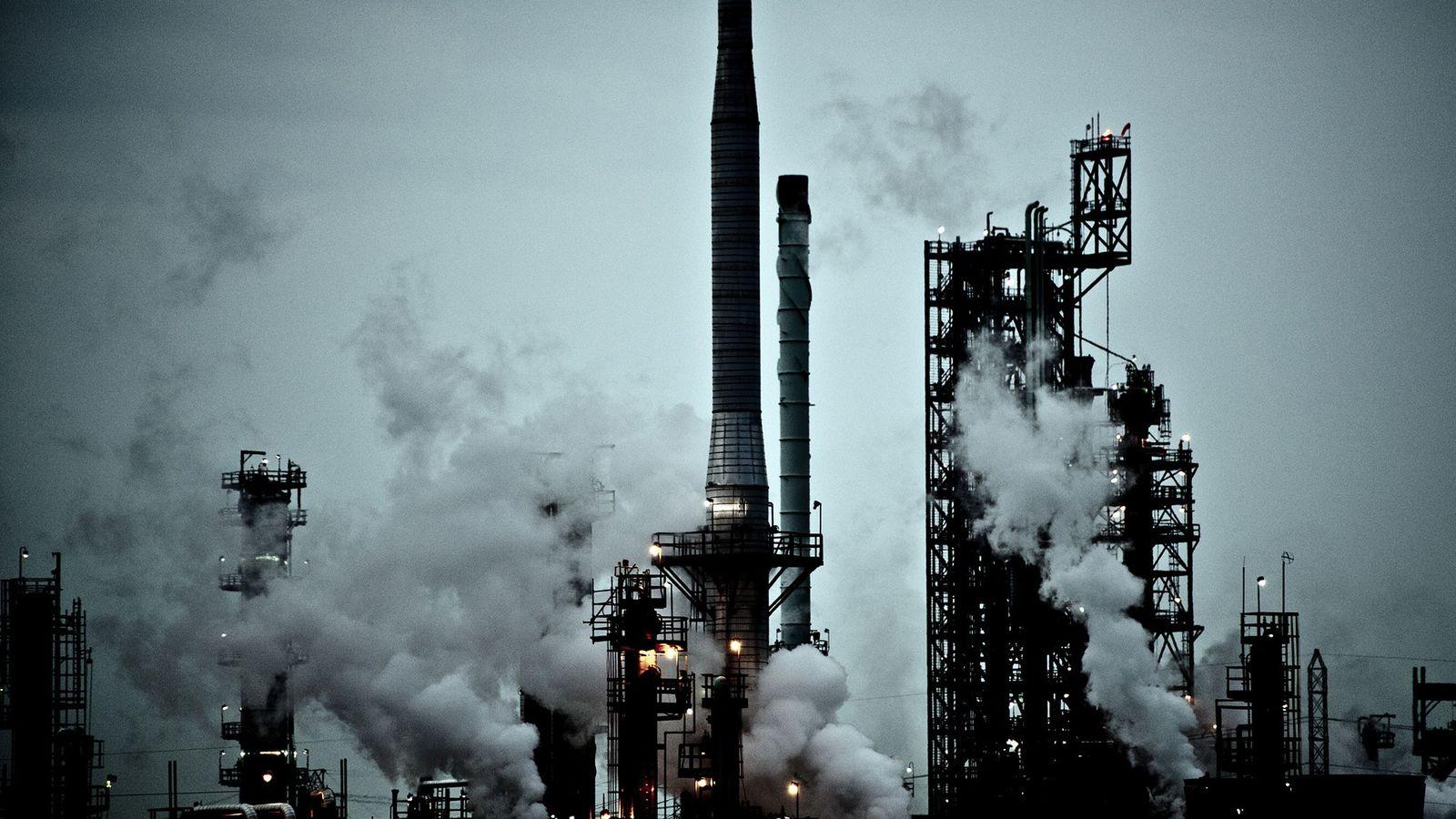 Une centrale à charbon de la société DTE Energy à River Rouge, dans le Michigan, aux ...