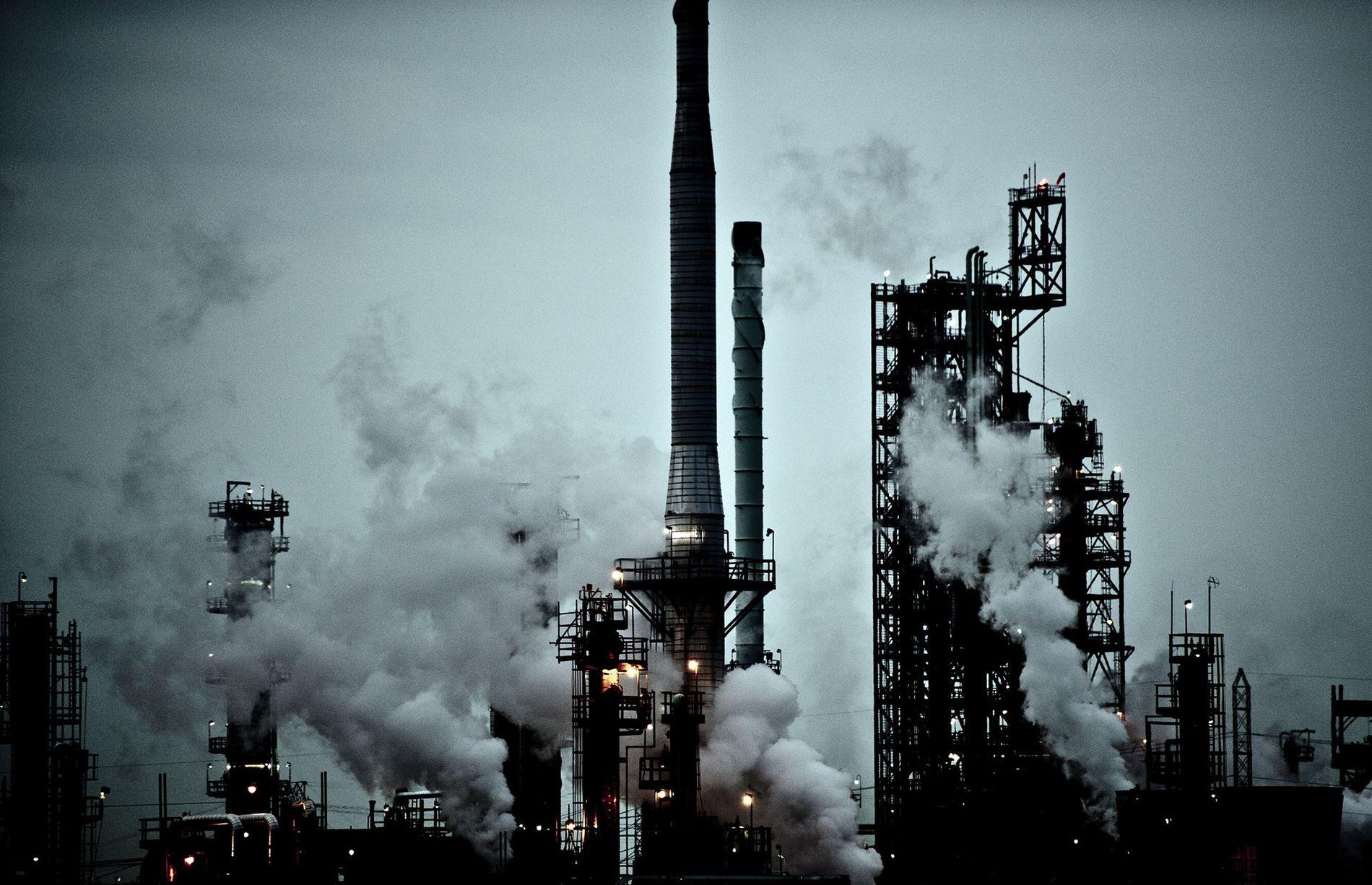 Une centrale à charbon de la société DTE Energy à River Rouge, dans le Michigan, aux États-Unis.