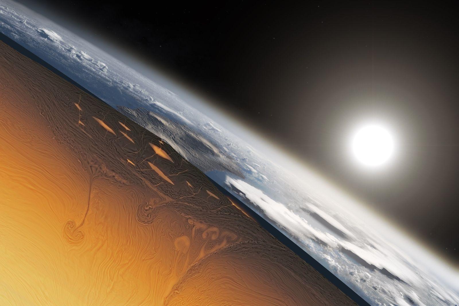 Découverte : la tectonique des plaques aurait commencé il y a 3,2 milliards d'années